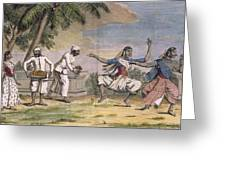 A Troupe Of Bayaderes, Or Indian Greeting Card by Pierre Sonnerat