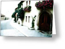 A Tuscan Street Greeting Card