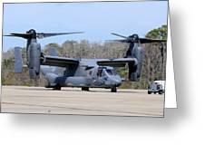 A U.s. Air Force Cv-22b Osprey Greeting Card