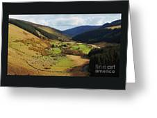 Natural Beauty In Wicklow, Ireland Greeting Card
