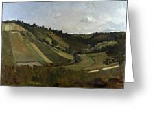 A Valley Greeting Card