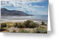A View From Buffalo Point Of White Rock Bay Greeting Card