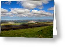 A View From Cabbage Hill Greeting Card