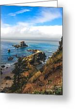 A View From Ecola State Park Greeting Card