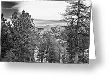 A View From Estes Park Greeting Card