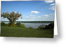 A View From Mount Vernon Greeting Card