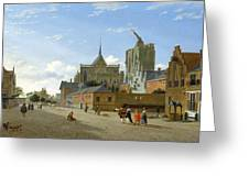A View In Cologne Greeting Card