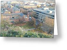 A View Of Nottingham Greeting Card