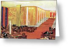 A View Of The Luxurious And Spacious Greeting Card