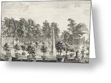 A View Of The Orangery Greeting Card