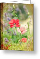 A Vintage Gardeners Notebook Greeting Card