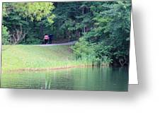 A Walk In Nature Greeting Card