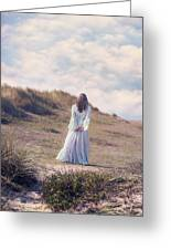 A Walk In The Dunes Greeting Card by Joana Kruse