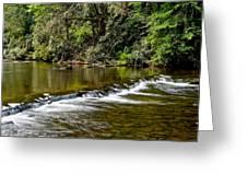 A Waterfalls Beginning Greeting Card