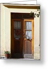 A Welcoming Door Greeting Card