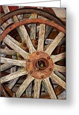 A Wheel In A Wheel Greeting Card