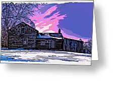 A Winter Dream 2 Greeting Card