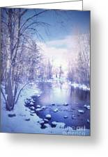 A Winter Reverie Greeting Card