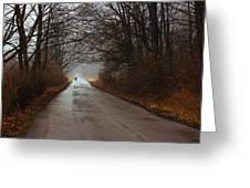 A Winter Walk Greeting Card