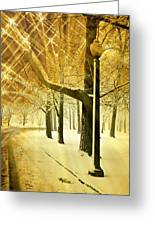 A Winter's Night Greeting Card