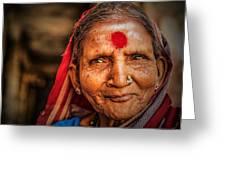 A Woman Of Faith Greeting Card