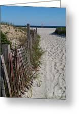 A Wonderful Beachday On Cape Cod Greeting Card