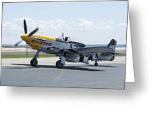 A7k Taxiing Greeting Card