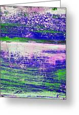 Aa3 1 Paint Textures Abstract Collage Greeting Card
