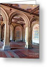Architecture In Central Park Greeting Card