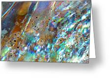 Abalone Abstract3 Greeting Card