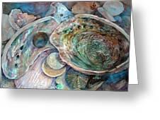 Abalone Grouping Greeting Card