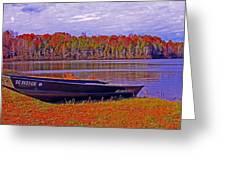 Abandon Boat Ajsp Greeting Card