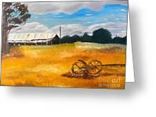 Abandon Farm Greeting Card