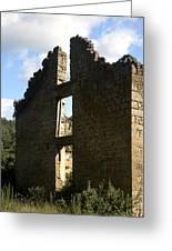 Abandon Stone House 5 Greeting Card