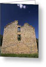Abandon Stone House 6 Greeting Card