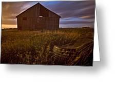 Abandoned Building, Saskatchewans Greeting Card