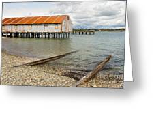 Abandoned Cannery Greeting Card