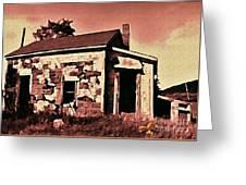 Abandoned Cape Breton House Greeting Card