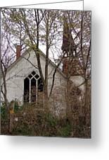 Abandoned Church Greeting Card