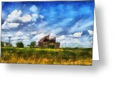Abandoned Farm 03 Photo Art Greeting Card