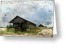 Abandoned Farm Home - Kansas Greeting Card