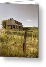 Abandoned Farm Greeting Card