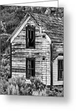 Abandoned Farmhouse - Alstown - Washington - May 2013 Greeting Card