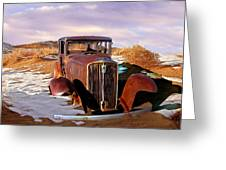 Abandoned For Almost 100 Years On Route 66 Greeting Card