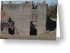Abandoned Foundation 1 Greeting Card