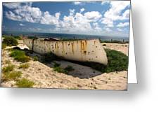 Abandoned In Grand Turk Greeting Card