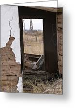 Abandoned In Texas Greeting Card