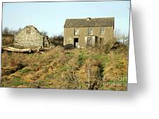 Abandoned Irish Farm Greeting Card