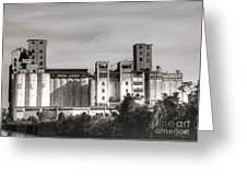 Abandoned Mills Greeting Card