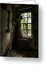 Abandoned - Old Room - Draped Greeting Card